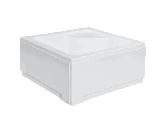 Brodzik kwadratowy Besco Igor 90 biały 90x90x24 BAI-90