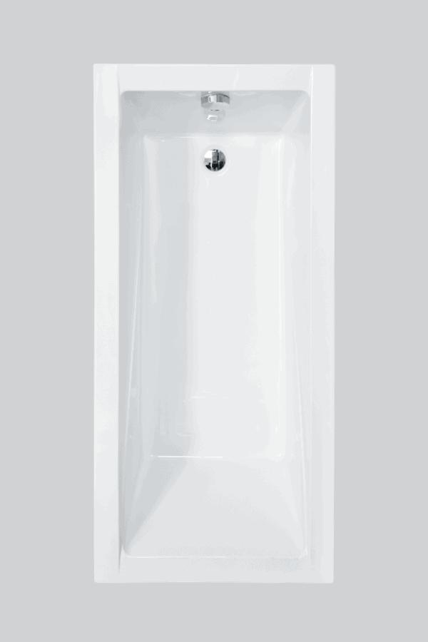 Zdjęcie Wanna prostokątna Besco Modern 150 150x70cm WAM-150-MO
