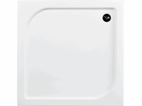 Zdjęcie Brodzik kwadratowy Besco Oskar 90 biały 90x90x4 BAO-90-PK