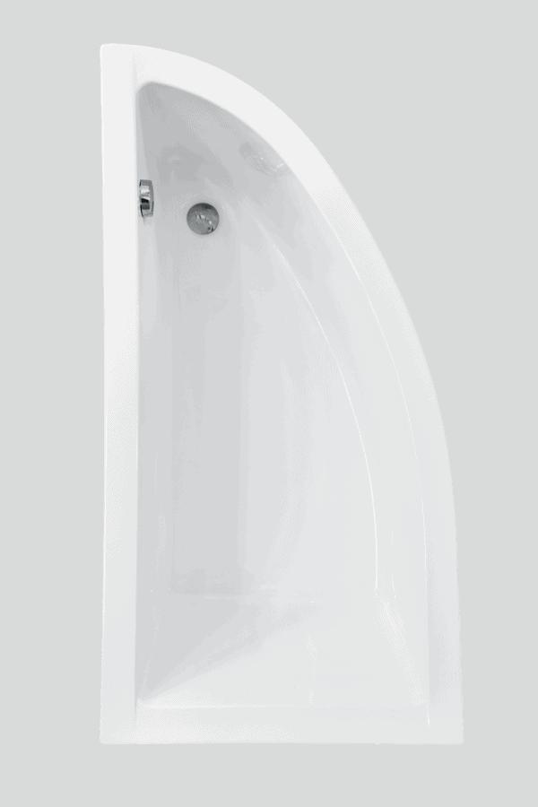Zdjęcie Wanna narożna asymetryczna Besco Praktika 150 Lewa 150x70cm WAP-150-NL