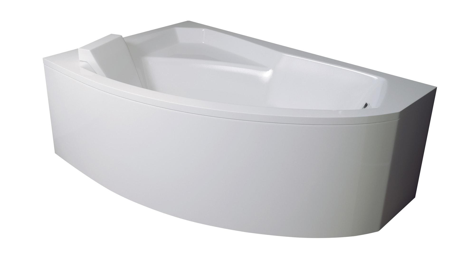 Obudowa do wanny Besco Rima 150 Lewa Biała OAR-150-NS