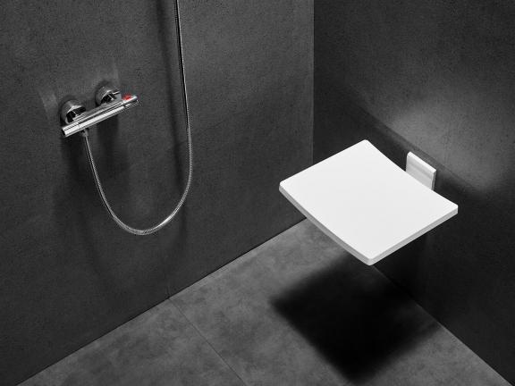 Siedzisko prysznicowe Besco Active 32x370cm SPA