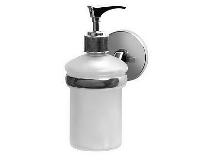 Dozownik mydła z uchwytem Bisk Chroma 01434