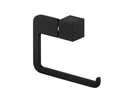 Uchwyt na papier WC prosty Bisk Futura Black 02963