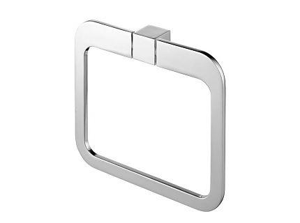 Wieszak owalny Bisk Futura Silver 02996 @