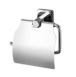 Uchwyt na papier WC z klapką Bisk Ice 04857
