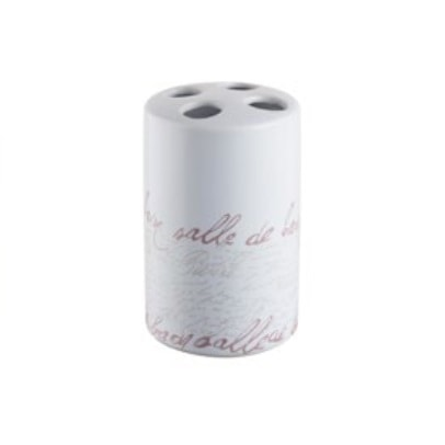 Kubek na szczoteczki Bisk Stamp 06568