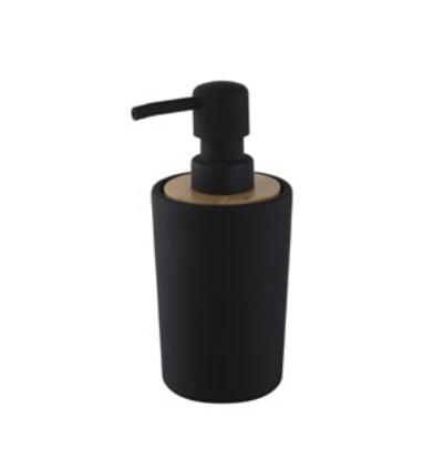Dozownik mydła Bisk Plain czarny 06572