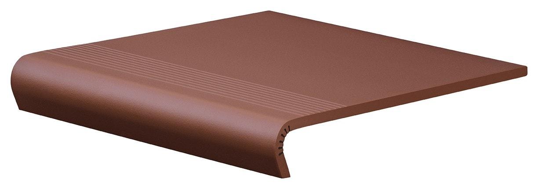 Płytka stopnicowa Cerrad V-Shape Burgund 300x320/50x11mm 10637