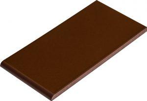 Płytka parapetowa Cerrad Szkliwiony Brązowy 245x135x13mm 11953