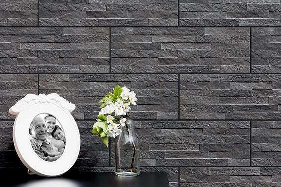 Zdjęcie Płytka elewacyjna Cerrad Kamień Kallio Tar 450x150x9mm 13690