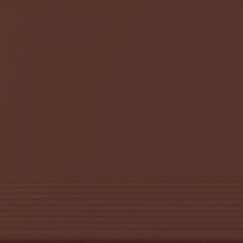Płytka stopnicowa Cerrad Brązowa 300x300x11mm 15678