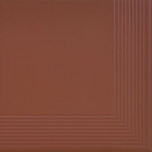 Płytka stopnicowa Cerrad Narożna Burgund 300x300x11mm 15821