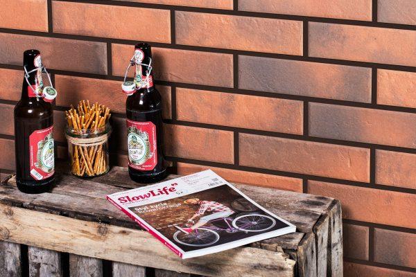 Zdjęcie Płytka elewacyjna Cerrad Retro Brick Chili 24,5×6,5cm 11962