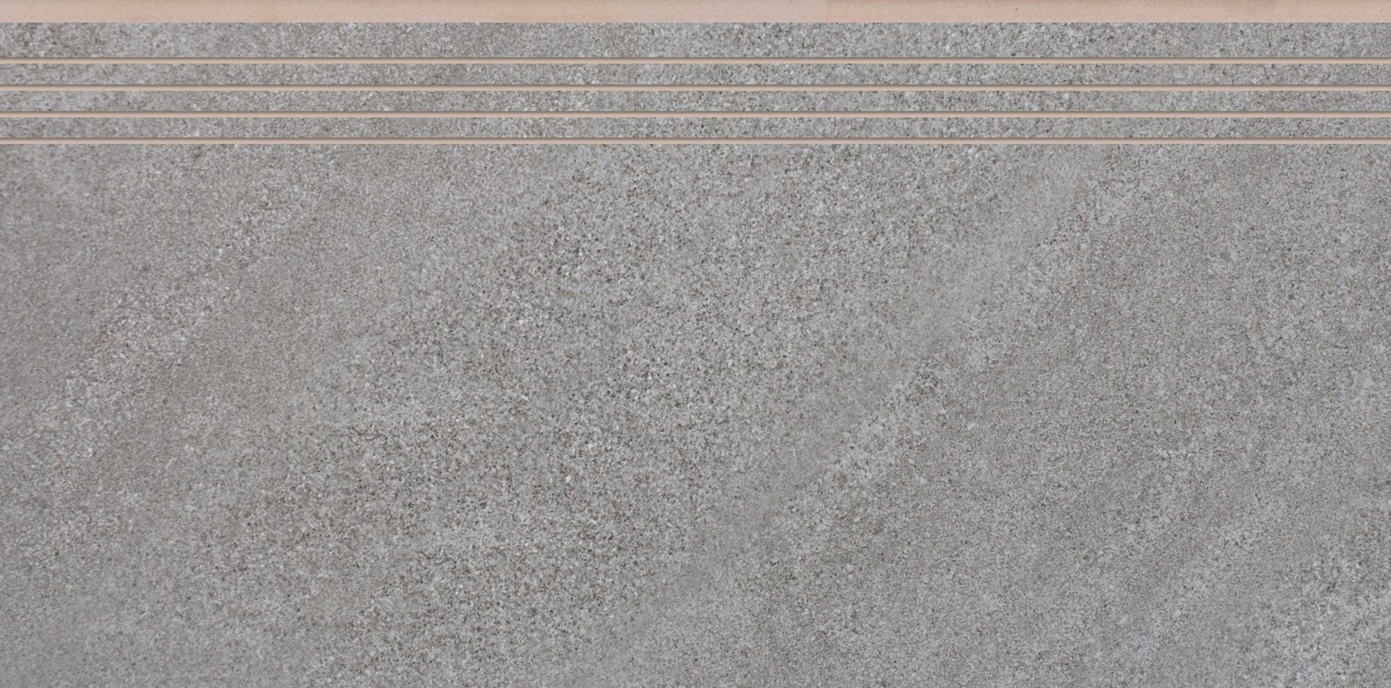 Stopnica nacinana Cerrad Campina Steel 597x297x8,5mm 32129