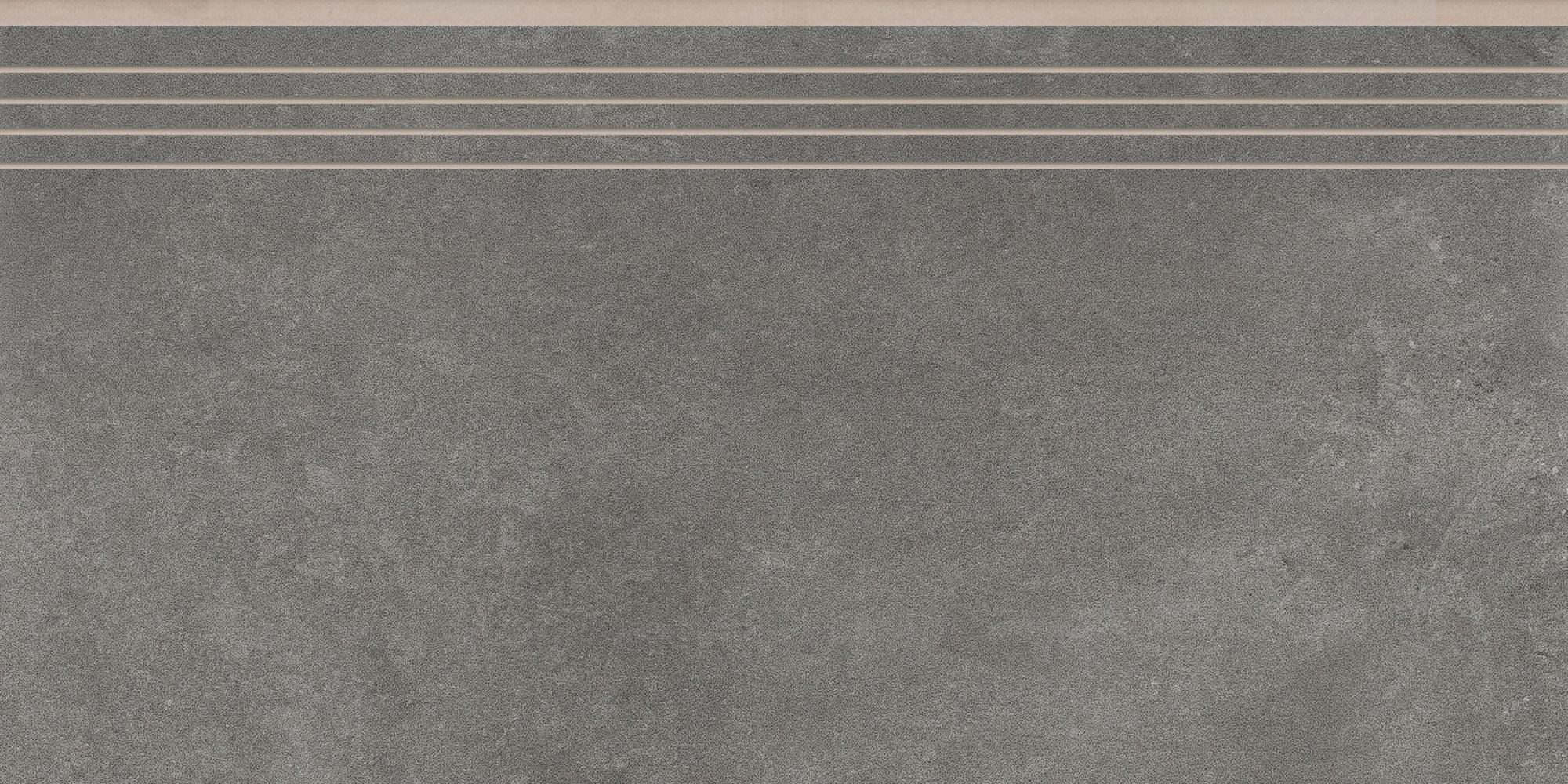 Stopnica nacinana Cerrad Tassero Grafit 597x297x8,5mm 32266