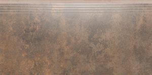 Stopnica nacinana Cerrad Apenino Rust Lappato 597x297x8,5mm 35722