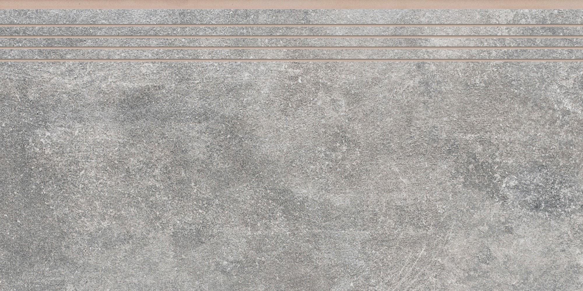 Stopnica nacinana Cerrad Montego Grafit 597x297x8,5mm 35968