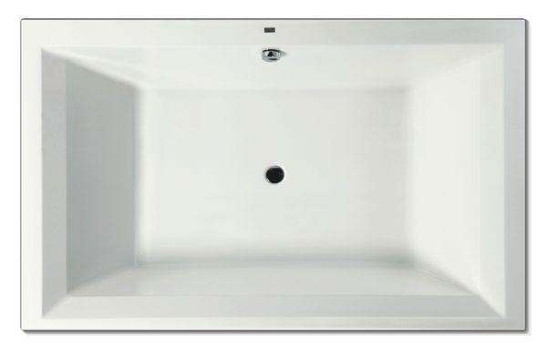 Wanna prostokątna Excellent Crown Lux 190x120cm WAEXCRO19WH