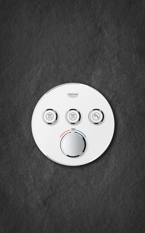 Zdjęcie GROHE Grohtherm SmartControl – podtynkowa bateria termostatyczna do obsługi trzech wyjść wody 29904LS0 .