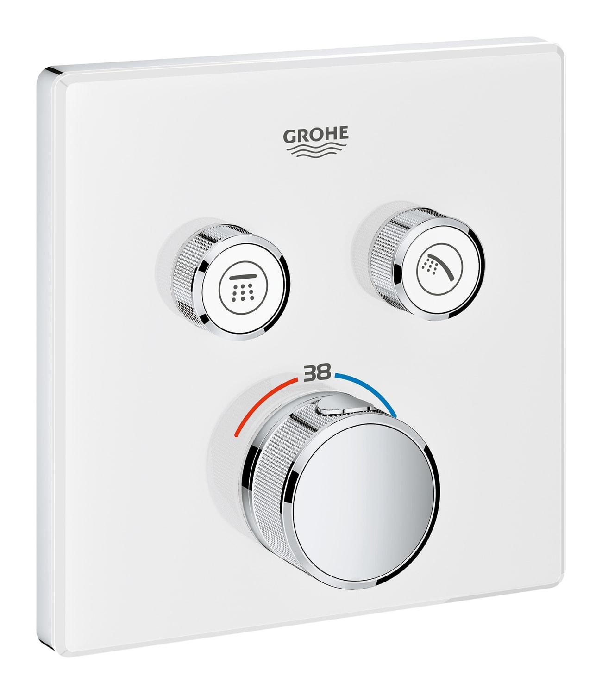 GROHE Grohtherm SmartControl - podtynkowa bateria termostatyczna do obsługi dwóch wyjść wody 29156LS0