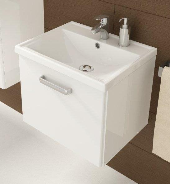 Szafka podwieszana z umywalką Defra Slim D50 001-D-05016+2420 50x40cm