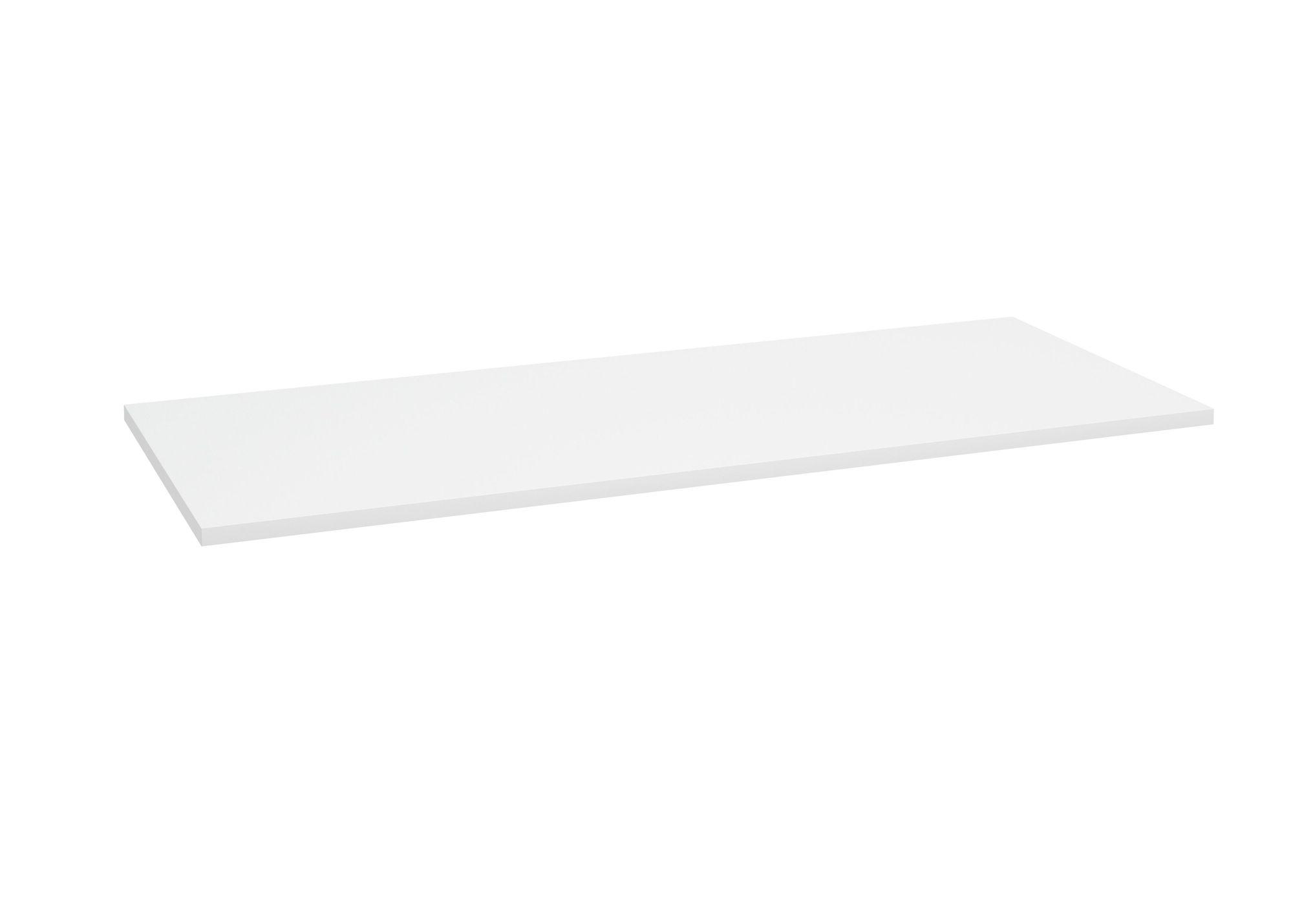 Blat Defra 100x40 biały połysk 001-F-10001