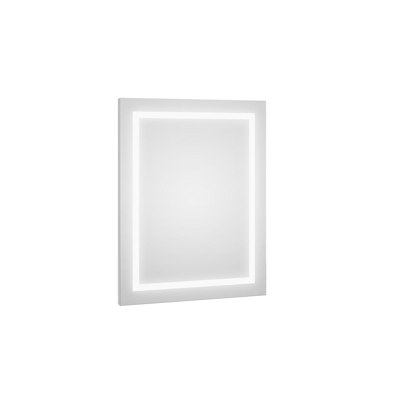 Lustro Defra DOT LED L60/80 Biały Połysk 60×80×2,9 cm 217-L-06001