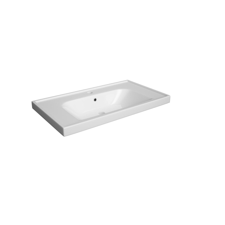 Umywalka ceramiczna Defra Frame 80 L 80x45 cm 4094