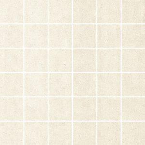 Dekoracja podłogowa Paradyż Doblo Bianco mozaika cięta mat 29,8x29,8