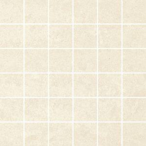 Dekoracja podłogowa Paradyż Doblo Bianco mozaika cięta poler 29,8x29,8