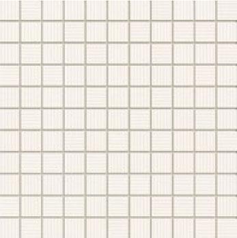 Mozaika ścienna Domino Margot Biały 30x30cm