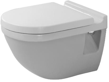 Miska WC wisząca Duravit Starck 3 220009 @
