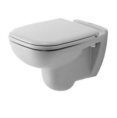 Miska WC wisząca + deska wolnoopadająca Duravit D-Code 25350900002+0067390000