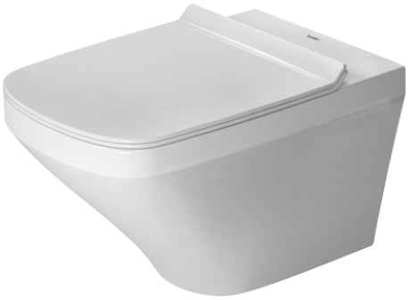 Miska WC wisząca bez rantu spłukującego + deska wolnoopadająca Duravit DuraStyle 45510900A1 (25510900A0+006379000)
