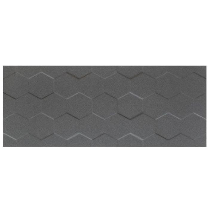 Płytka ścienna Tubądzin Elementary Graphite Hex STR 29,8x74,8cm