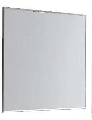 Lustro Elita Kwadro 80/60 aluminium mat 162337