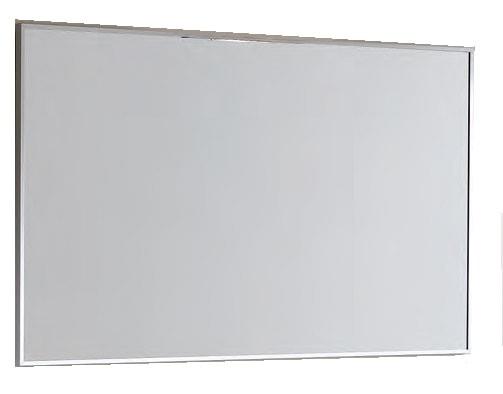 Lustro Elita Kwadro 100/60 aluminium mat 162939