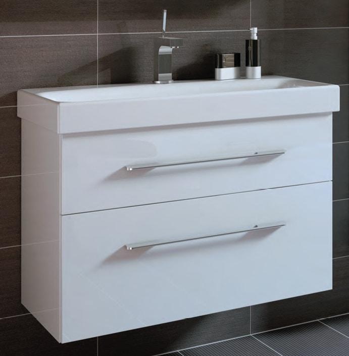 Szafka pod umywalkę Elita Barcelona 60cm biała 164343