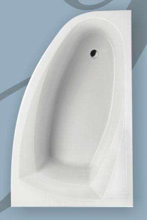 Wanna narożna asymetryczna Excellent Aquaria Comfort 150x95cm Prawa WAEXAQP15WH