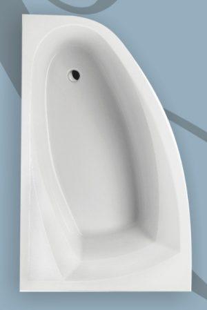 Wanna narożna asymetryczna Excellent Aquaria Comfort 150x95cm Lewa WAEXAQL15WH