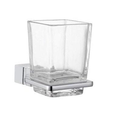 Uchwyt ze szklanką szkło bezbarwne Frescor Alano 24.07.00