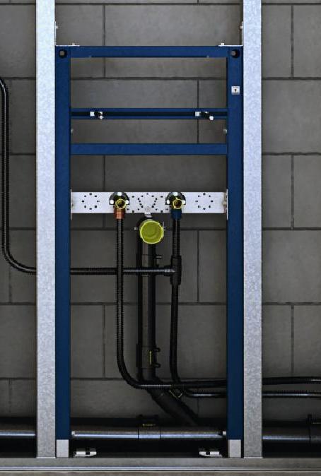 Stelaż do umywalki Geberit Duofix dla baterii stojącej H112 111430001