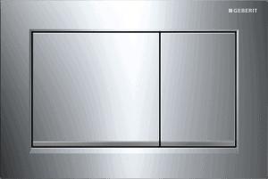 Przycisk Geberit Omega30 chrom błyszczący/chrom matowy 115.080.KH.1