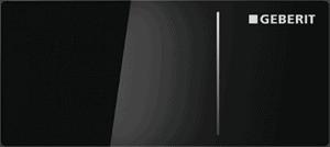 Przycisk uruchamiający zdalny Geberit Omega70 szkło czarne 115.084.SJ.1
