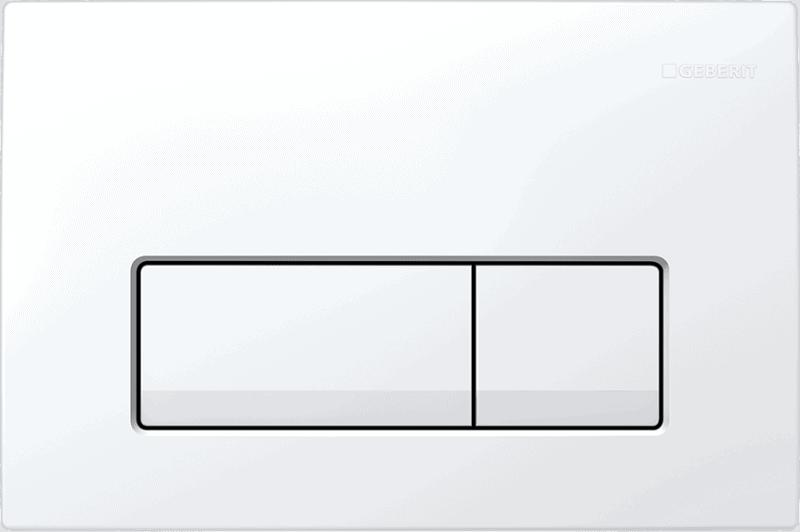 Przycisk spłukujący Geberit Delta51 biały-alpin 115.105.11.1