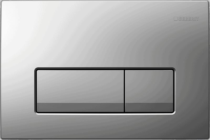 Przycisk spłukujący Geberit Delta51 chrom matowy 115.105.46.1