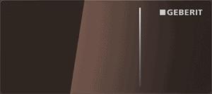 Przycisk uruchamiający Geberit Sigma70 szkło umbra 115.635.SQ.1