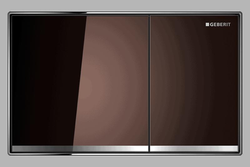 Przycisk uruchamiający Geberit Sigma60 szkło umbra 115.640.SQ.1