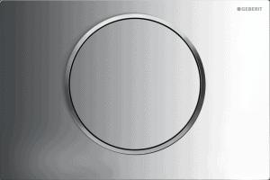 Przycisk uruchamiający przedni Geberit Sigma10 biały/chrom błyszczący/chrom matowy 115.758.KN.5